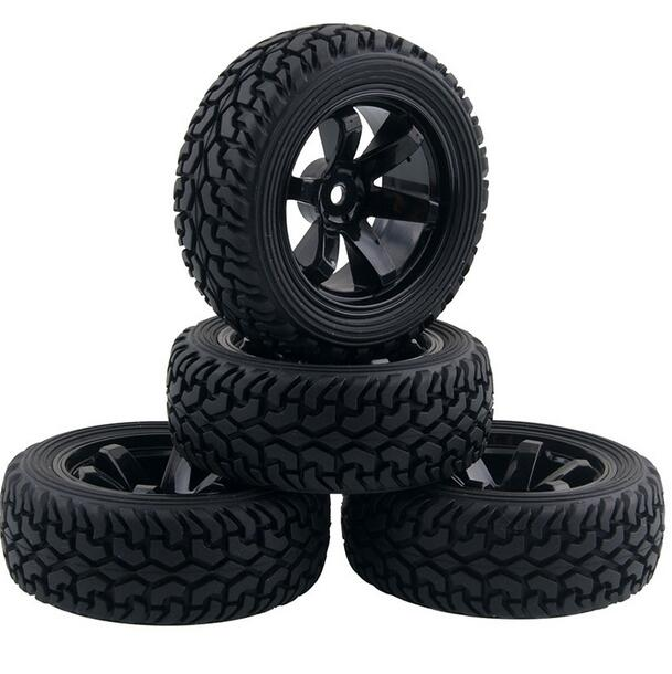 4pcs 1 16 rally tire off road tires buggy wheels 1 10 on road car pull rally tyre suitable for. Black Bedroom Furniture Sets. Home Design Ideas