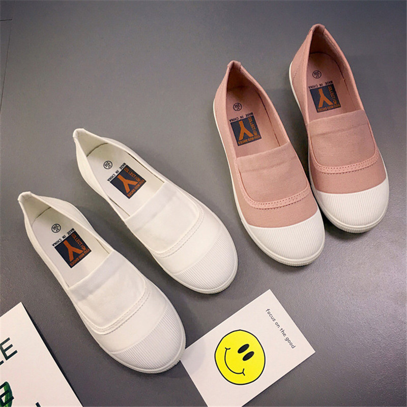 Plates Zapatos De Femme Taille Confortable Plats Mocassins Marche Mujer Pour Automne pink 35 Chaussures Printemps White black Femmes Été gray 40 wq8Iz7