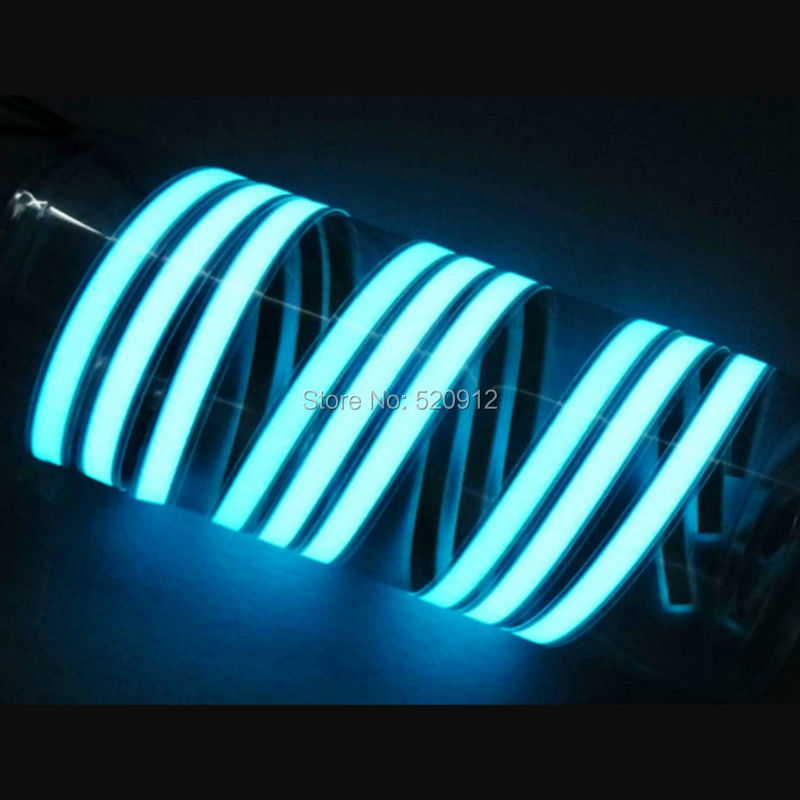 1.5cm x 100cm Flexible five color EL backlight tape EL light tape EL Strip - with DC3V inverter