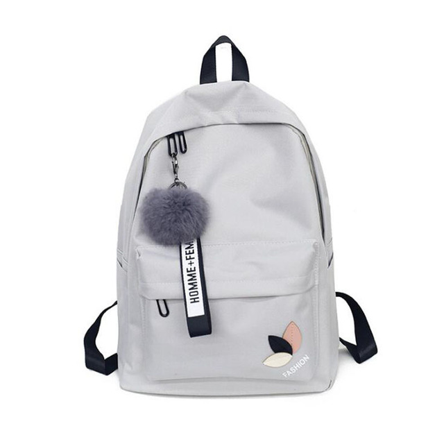 2018 New Bookbags Girl School Bag Kid Backpack Women Ladies Small Zipper  Backpacks School Bags for Teenagers Girls Big Capacity f37b5fa288