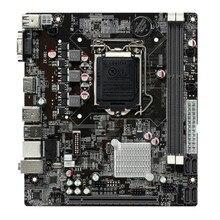 OEM H81 Socket LGA 1150 Micro ATX Motherboard Desktop Graphics USB 3.0 PCI E X16 SATA Dual DDR3 Intel i3/i5/i7/Pentium/Celeron