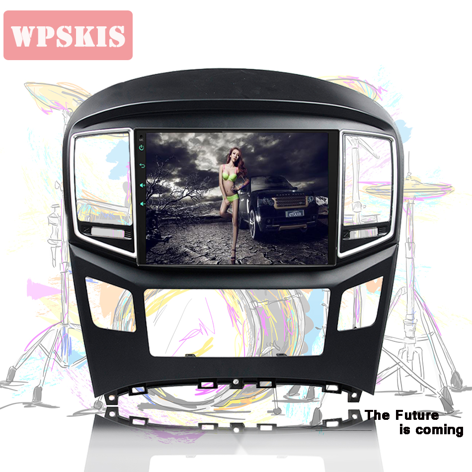 9 inch 2 din Android 9.0 4G Car Dvd Player For Hyundai H1 Grand Starex 2015-18 Radio tape recorder Video Gps WIFI RDS usb audio