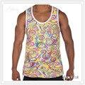 Novo Tanque dos homens Cobre Marca de Moda Homem camiseta Sem Mangas Musculação Regatas Undershirts Masculino Ocasional do Verão Colete Quadril Hop