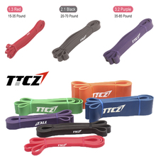 208cm Fitness Equipment Natural Latex Pull Up Physio Resistance Bands Fitness CrossFit Loop Bodybulding Yoga Exercise