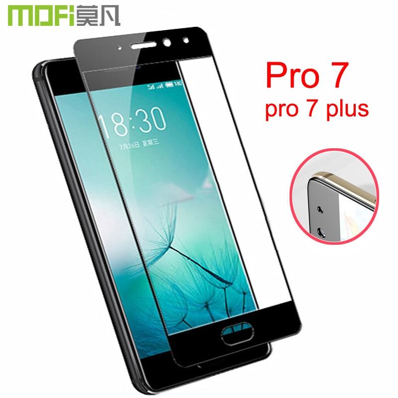 meizu pro 7 glass Mofi original 9H anti knock full cover meizu pro7 screen protector meizu pro 7 plus glass