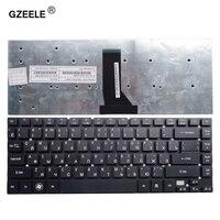 GZEELE teclado del ordenador portátil para Acer Aspire V3-471PG V3-471G E5-411G E5-421 E5-421G E5-471 E5-471G ES1-511. Diseño ruso