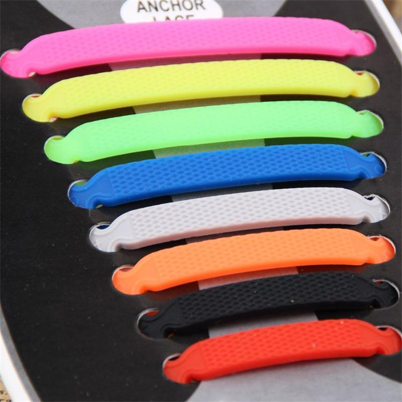 2017 16Pcs/Set V-Style Free Shipping Summer Hot Sale Fashion Unisex Creative Lazy Silicone Laces Suitable For All Sports Shoes free drop shipping 2017 newest europe hot sales fashion brand gt watch high quality men women gifts silicone sports wristwatch