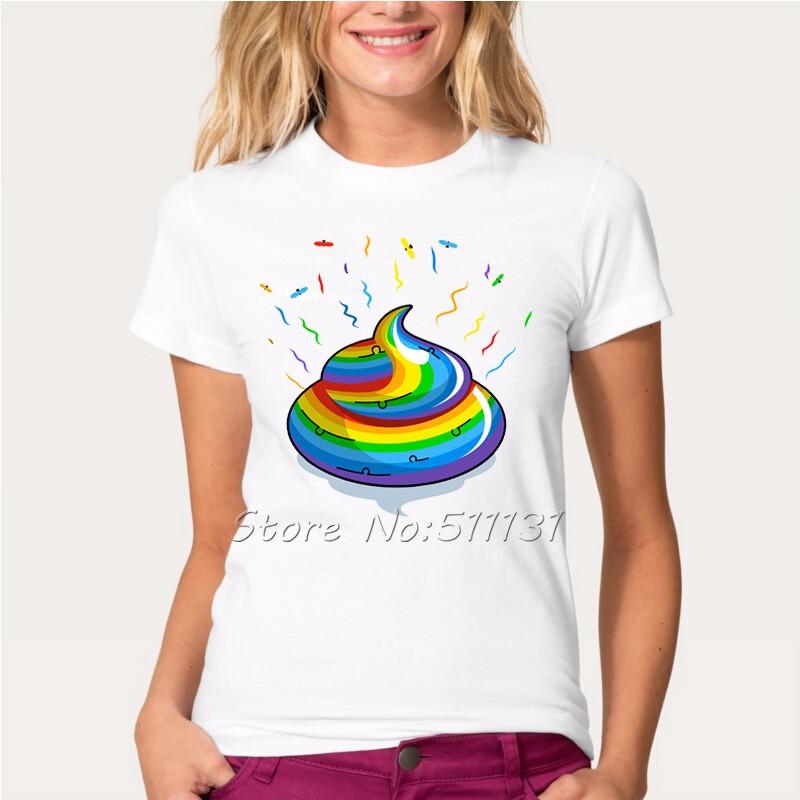 HTB1daRaOFXXXXXMaXXXq6xXFXXXb - Newest Funny Unicorn Rainbows T Shirt Womens Fashion