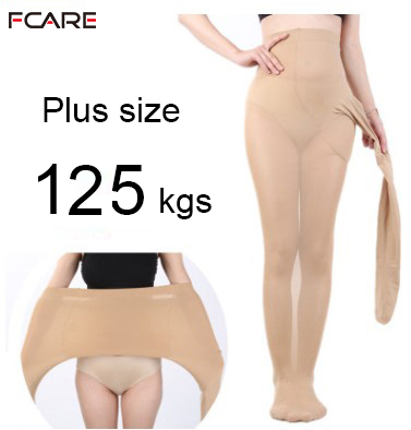 c103bc319 Primavera otoño 120D mujeres super elástico más tamaño extra grande 3XL  pantyhose medias collant grande taille