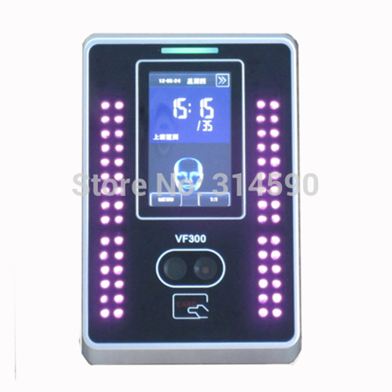 125Khz EM Card Reader & Face Recognition Time Attendance System Employee Time Clock  ZKteco Facial Attendance Terminal VF300 купить