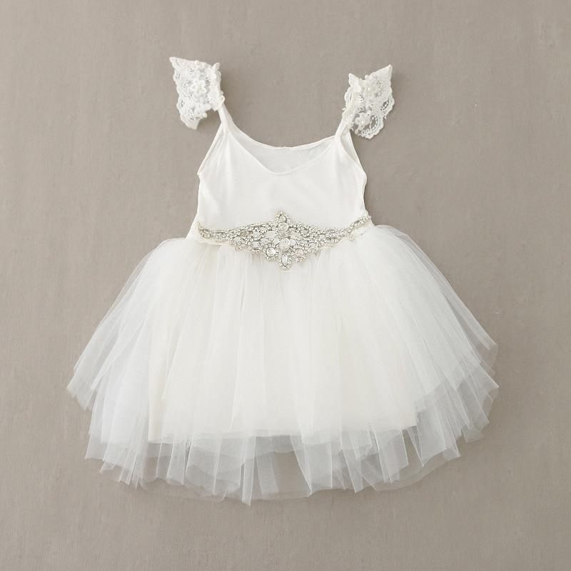 White Baby Dress Nancy August Baptism Dress For Adriyana Baby ...
