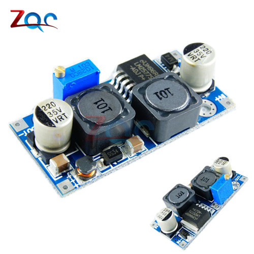 цена на DC-DC Auto Boost Buck Step Up Step Down Converter Module Solar Voltage LM2577 Module