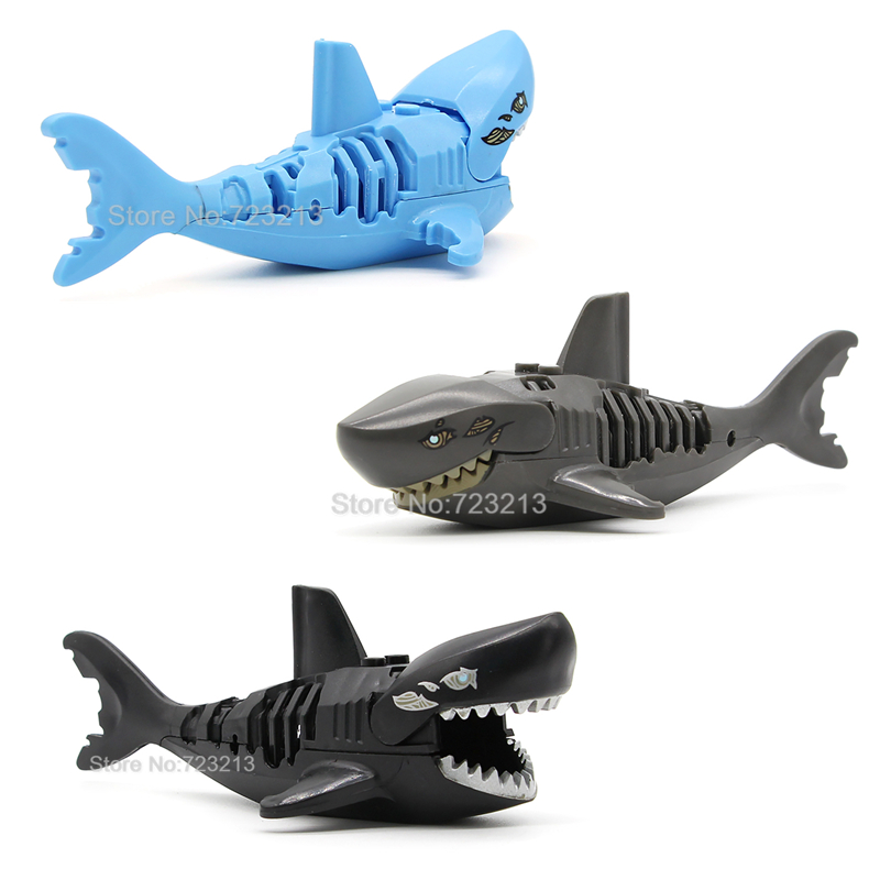 Ghost Zombie Shark Block Pirates of the Caribbean Single Sale Jack PG1008 Building Blocks Set Model Bricks Toys for Children