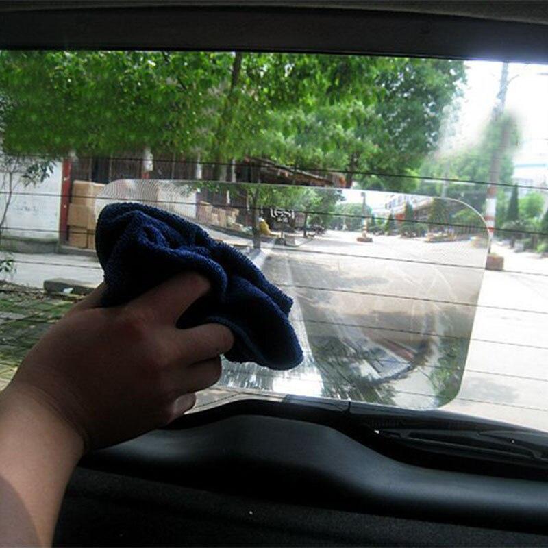 Kąt obiektywu Auto naklejki cofania samochodu tylne szyby przydatne powiększ widok kąt soczewka optyczna naklejka