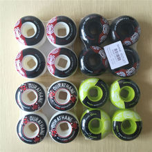 skateboard wheels Size 52mm and 101A hardness Brand skate wheels for double rocker and professional Skater