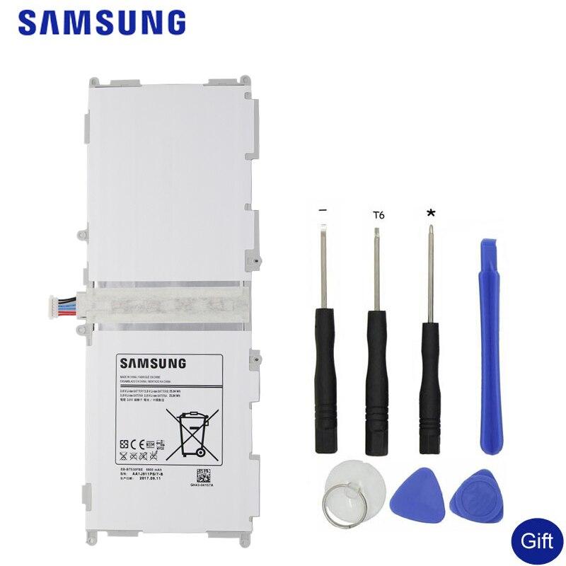 SAMSUNG Tablette Originale Batterie EB-BT530FBU EB-BT530FBC Pour Samsung GALAXY Tab4 Tab 4 SM-T530 T531 T535 T537 T533 T535 6800 mah