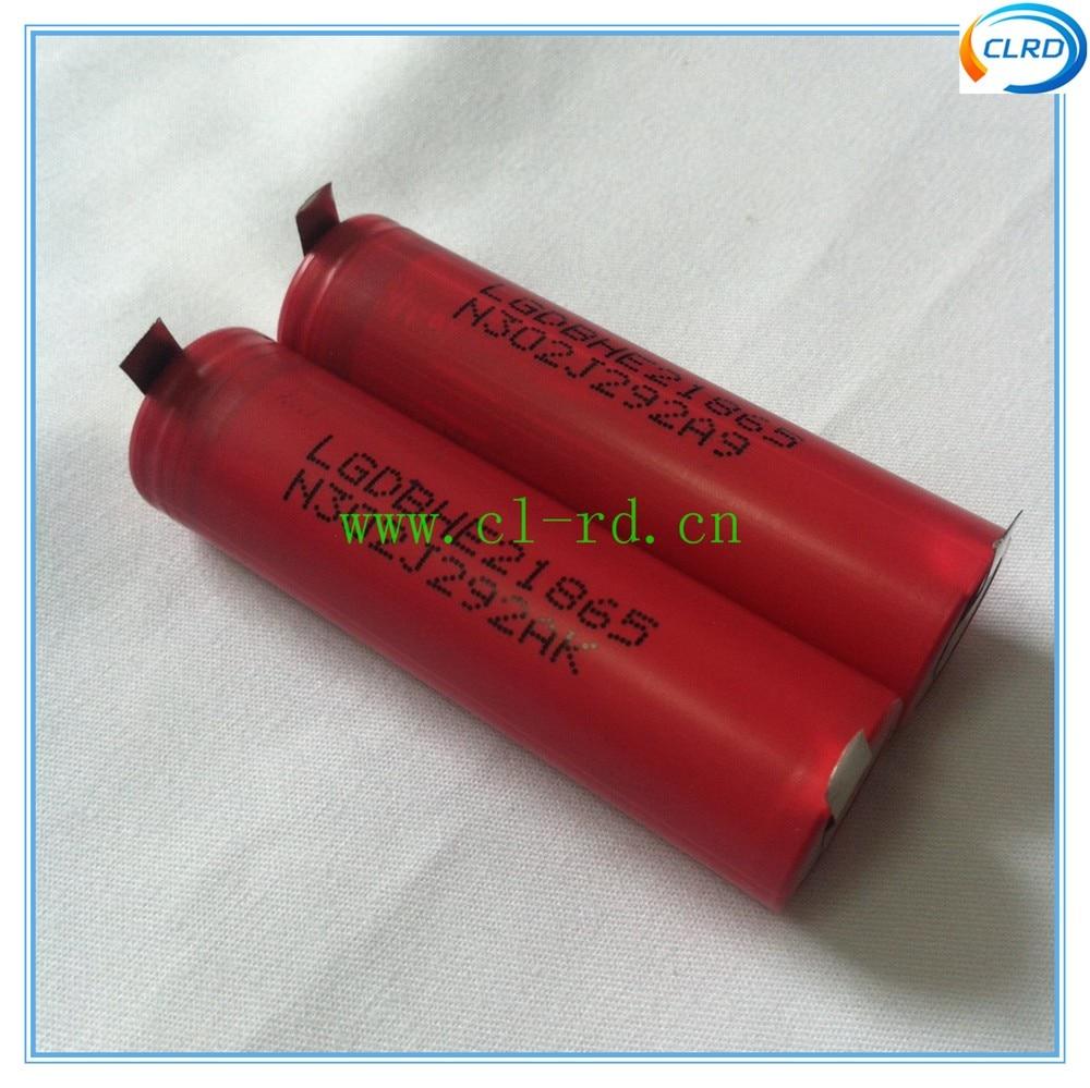 Baterias Recarregáveis 4 pçs/lote lghe2 originais 2500 Tipo : Li-ion