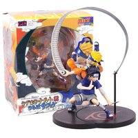 NARUTO Uzumaki Naruto & Uchiha Sasuke GEM Series Remix Não Escala Pintada Figura Collectible Modelo Toy 18 cm