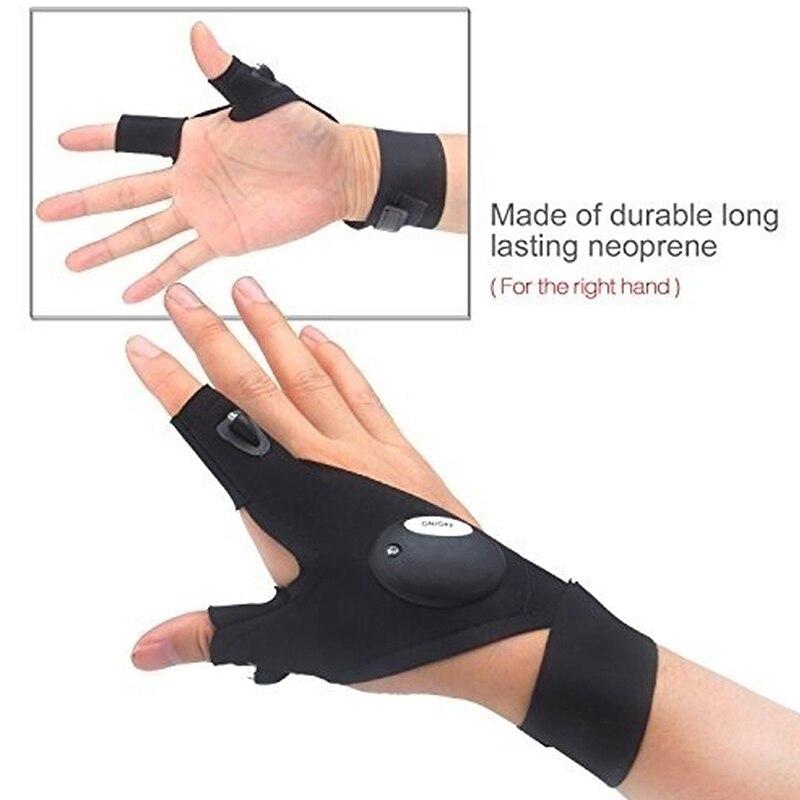 Led Taschenlampen Taschenlampen-Abdeckung Fingerhandschuhe - Haushaltswaren - Foto 6