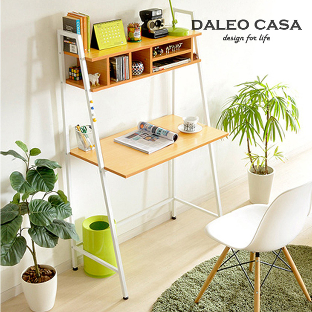 US $1137 0 |IKEA IKEA style furniture designer with a CD rack computer desk  student desk Children writing desk Desk-in Dressers from Furniture on