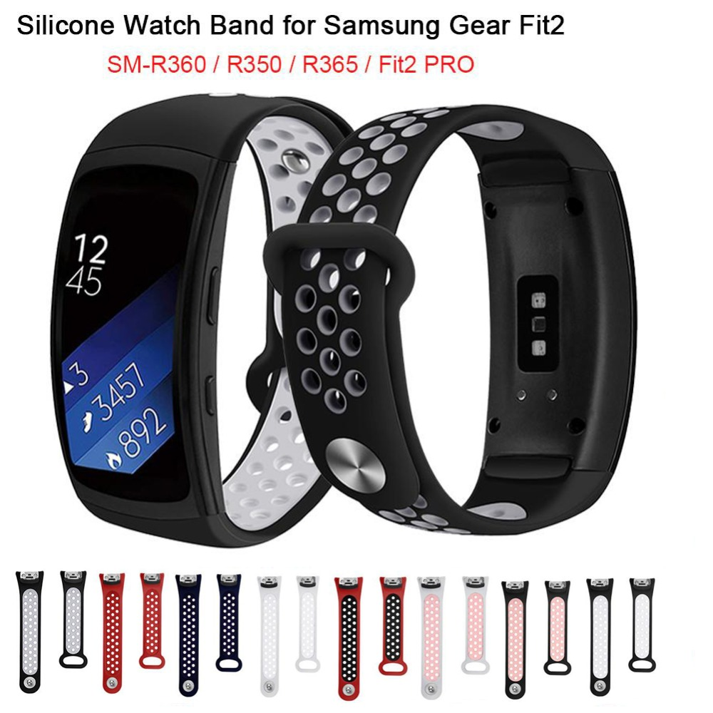 Silicone Watchband For Samsung Gear Fit 2 Pro Band Luxury Watchband For Samsung Fit 2 SM-R360 Strap Drop ShipSilicone Watchband For Samsung Gear Fit 2 Pro Band Luxury Watchband For Samsung Fit 2 SM-R360 Strap Drop Ship