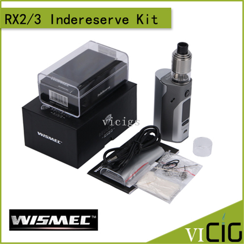 100% Original Wismec Reuleaux RX2/3 TC 150W/200W Box Mod Powered by Two/Three Cells with Upgradeable Firmware termica ан 3 200 tc