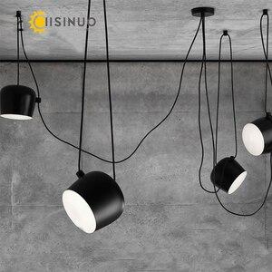 Скандинавские DIY креативные личностные люстры, ресторанные кафе, современные домашние светильники, магазин одежды, светодиодные художеств...