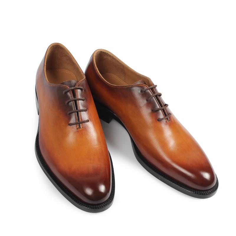 Vikeduo 2019 새로운 브랜드 남성 옥스포드 신발 정품 가죽 남성 신발 수제 신발 웨딩 사무실 공식 patina zapatos hombre-에서옥스퍼드화부터 신발 의  그룹 2