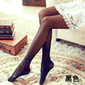 Bow lace stockings cored wire pantyhose autumn thin section jacquard stockings female bottoming
