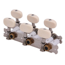2Pcs Left And Right Classical Guitar String Tuning Pegs Machine Head Tuners Tuning Keys Parts 3L3R Guitar Parts & Accessor