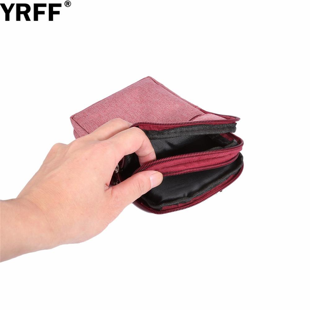 YRFF Koboi Kain Tas Telepon untuk Samsung J5 J7 J3 Untuk huawei p8 - Aksesori dan suku cadang ponsel - Foto 6