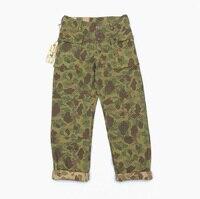 Боб DONG Реплика P44 Для мужчин брюки 13,7 унц. джинсовой ткани армии США Военная штаны карго Duck Hunter камуфляжные армейские штаны