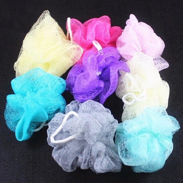 3 pz Perle Da Bagno Morbido di Colore Solido di Plastica Doccia Lavaggio Palle d