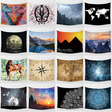 Hot sale  different styles wall hanging tapestry home decoration tapiz pared L 200*150cm M 150*130cm