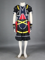 Game Kingdom Hearts Sora Cosplay Costume Anime Carnival Party Clothing With Shirt Shorts Pants Belt Customization