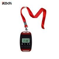 433 MHz Uhr Empfänger Wireless Aufruf System Kellner Anruf Pager Restaurant Ausrüstung Catering Kunden Service K-400