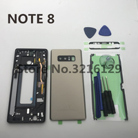 NOTE8 Original new Replacement Parts For Samsung Galaxy note 8 N950 N950F housing set Carcase case Accessories+Tools