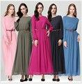 Исламская одежда для женщин мусульманин платье абая jilbabs и abayas мусульманин хиджаб платье пакистан традиционная одежда WL2422