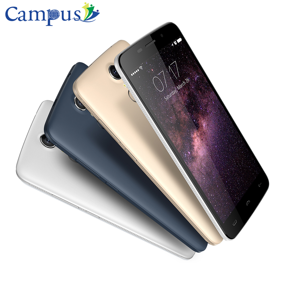 Original HOMTOM HT17 4G Smartphone 5 5 HD Fingerprint Mobile Phone Android 6 0 MTK6737 Quad