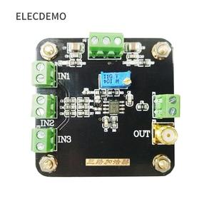 Image 2 - Module damplificateur opérationnel à trois canaux, monophasé, inverseur de Gain, amplificateur réglable