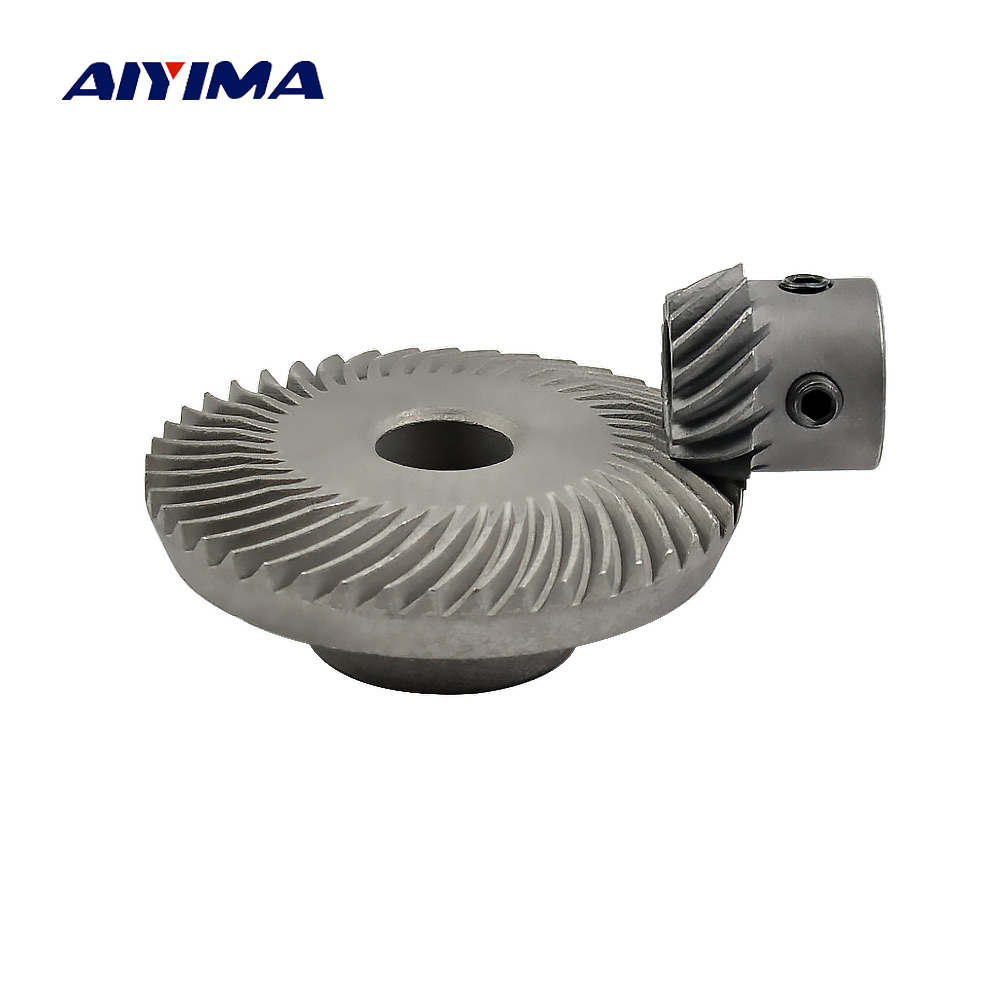 Aiyima 1 pair 1 Modulus 1:3 Small Spiral Bevel Gear Carbon Steel Helical Gear Electrical Tools Non-standard Arc Tooth free shipping new original formatter board jc9202529a for samsung clp 4195 logic board motherboard printer parts on sale