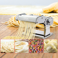 Free By DHL1PC Household Mini Pasta Machine Manual Metal Spaetzle Makers Pressing Machine Pole Head Mingled