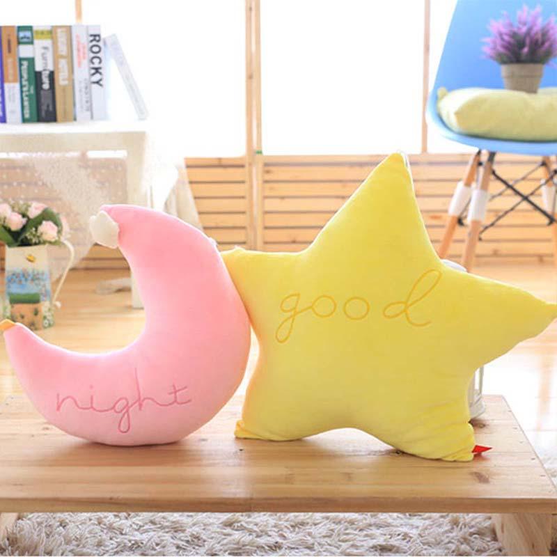 Plüschkissen 45 Cm 50 Cm Große Plüsch Spielzeug Stern Mond Plüsch Kissen Geschenk Crown Sofa Kissen Dekoration Kissen Kissen Plüsch Puppe Plüsch Spielzeug Geschenk