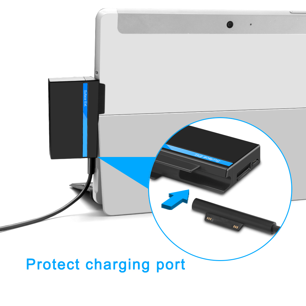 USB Type C 2.0 Multiple USB Memory Card Reader Adapter With HDMI Function For SD / TF Micro SD For Microsoft Surface Go Hub Hab