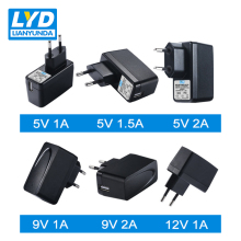 EU Plug 5V-1A/1.5A/2A USB Charge AC-DC Power Adapter 9V-1A 12V-1A/0.5A For Electrical Equipment Switching