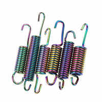 Motorcycle Side Main Kickstand Spring Multicolor For Yamaha Suzuki Scooter 125cc Ybr En Rsz Force Zy125t Cygnus-z Or More