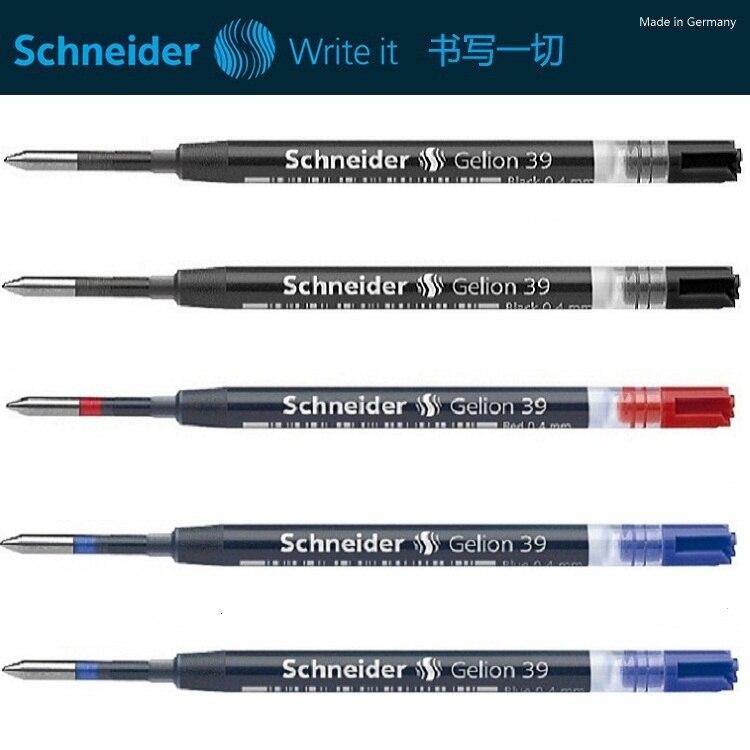 Deutschland Original Schneider 39 neutral gel pen refill patrone Europäischen kern standard G2 refill