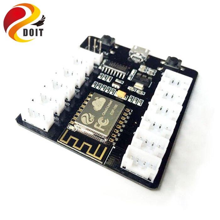 DOIT grove sensor kit from esp8266 sensor shield extension development board wifi upload IOT diy data transmission