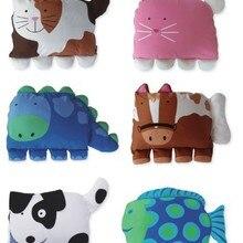 6 Deisgns, большой размер-наволочка для детской подушки с рисунками животных/Детские модельные наволочки в форме животных/Детская наволочка