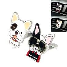Автомобиль-Стайлинг милые Товары для собак Форма забавные Освежители воздуха Автомобиль Air Vent духи твердые аромат авто декоры высокое качество